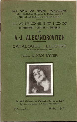 catalogue Alexandrovitch