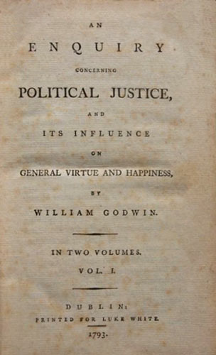 Godwin Enquiry concerning Political Justice 1793