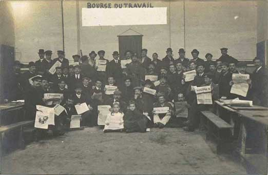 carte photo de la Bourse du Travail du Havre ?
