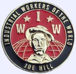 pins IWW Joe Hill