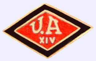 insignia del grupo 14 de la Unión Anarquista arrrondissement