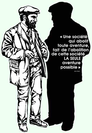 portrait et citation de Malatesta