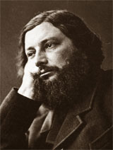 Gustave Courbet photo de Nadar