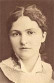 Lizzie Holmes, American anarchist; source ephemanar.net