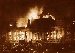 Reichstag burning