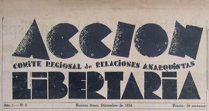 Diario argentino Acción Libertaria