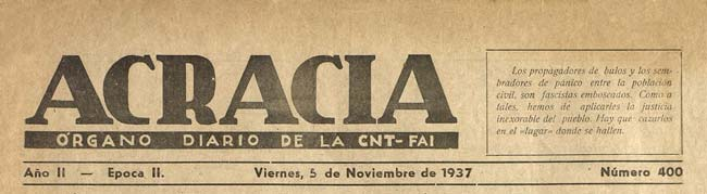 "journal ""Acracia"" 37"