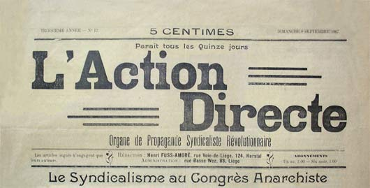 "journal ""L'Action Directe"" n°11"