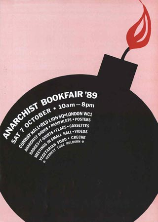 Anarchist-bookfair London 89