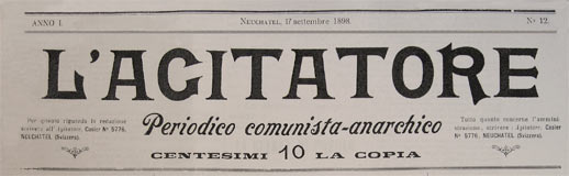 journal italien l'agitatore