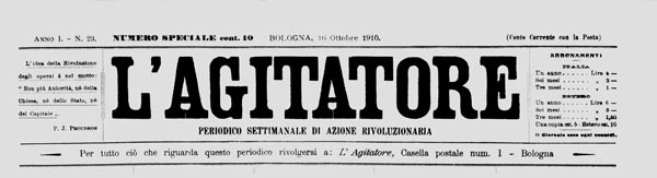 "journal ""L'Agitatore"""