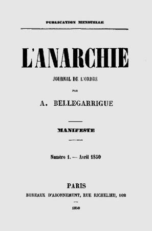 l'anarchie journal de l'ordre n1