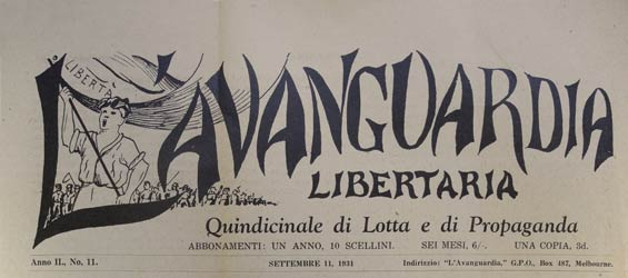 "journal "" l'avanguardia"