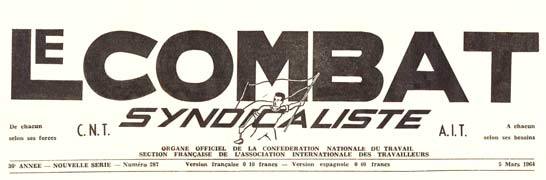 Combat Syndicaliste logo