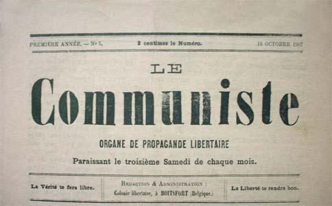 """periódico """"comunista"""" en 1907"""