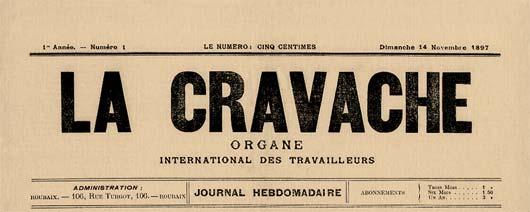 "journal de Roubaix ""La Cravache"""