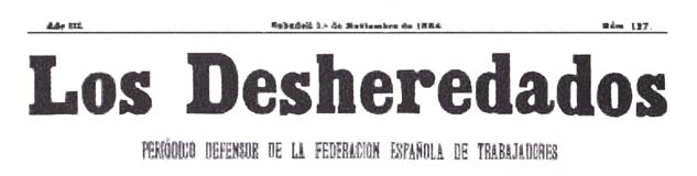 "journal ""Los desheredados"