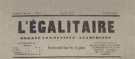 journal l'egalitaire