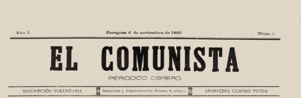 "journal ""El Comunista"""
