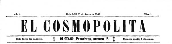 "journal ""El Cosmopolita"""