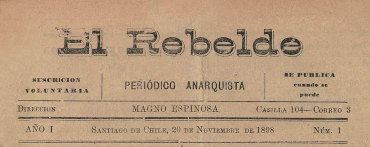 "journal ""El Rebelde"""