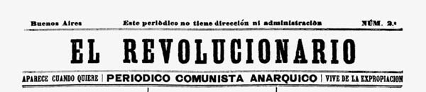 "journal ""El revolucionario"" n2"