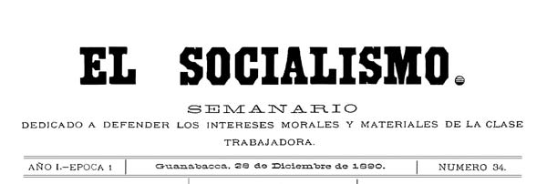 "journal ""El Socialismo"" 2"