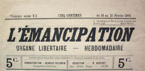 "journal ""L'Emancipation"""