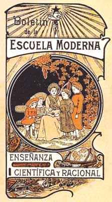 Boletín Escuela monerna
