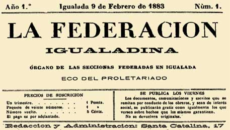 "journal ""La Federacion igualadina"""