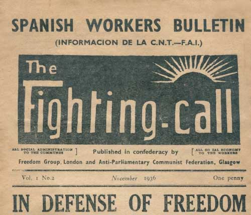 "journal ""The Fighting call"""