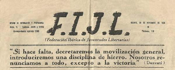 "journal ""F.I.J.L."" Madrid"
