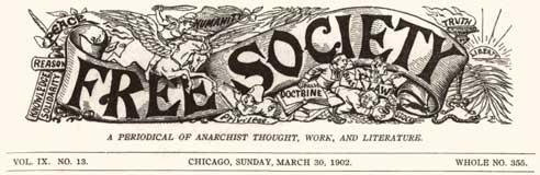 Free Society masthead