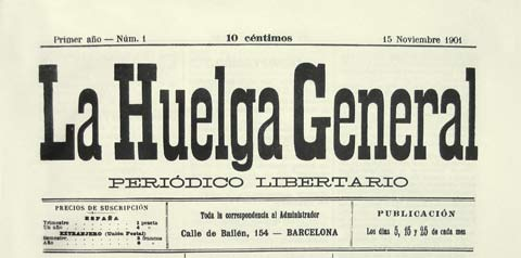 logo: La Huelga General