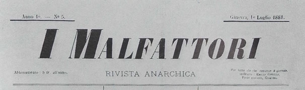 "journal ""I Malfattori"""