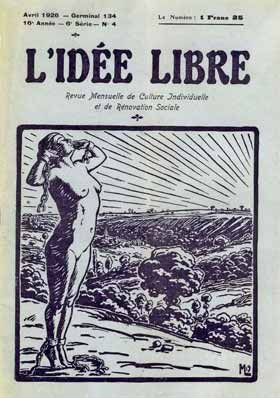L'Id�e Libre, courtesy Eph�m�ride Anarchiste