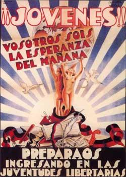 Federaci�n Ib�rica de Juventudes Libertarias poster