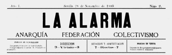 "journal ""La Alarma"""
