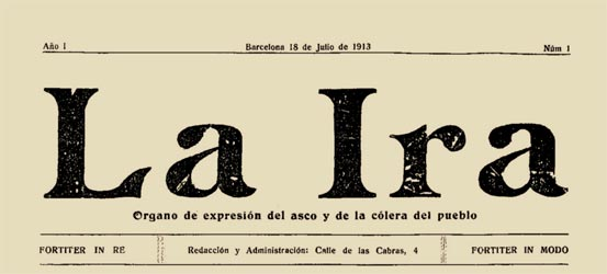 "journal ""La Ira"""