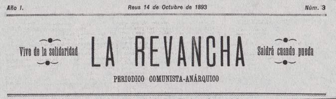 "periódico ""La Revancha"""