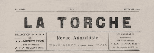 "journal ""La Torche"""