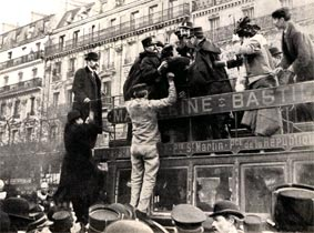 Arrest of Jacob Law, anarchiste; source Ephemeride Anarchiste