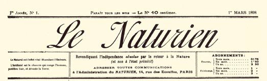 journal le naturien