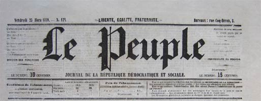 journal le peuple