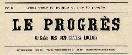 "journal ""Le Progès"""