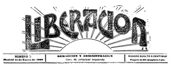 "journal ""Liberación"" de 1908"