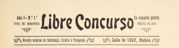 "journal ""Libre concurso"""