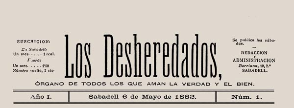 "journal ""Los desheredados"" n1"
