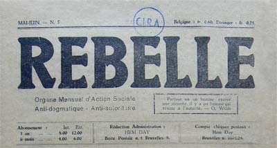 journal belge rebelle