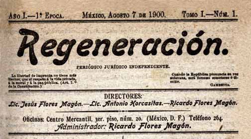 journal Regeneracion n°1